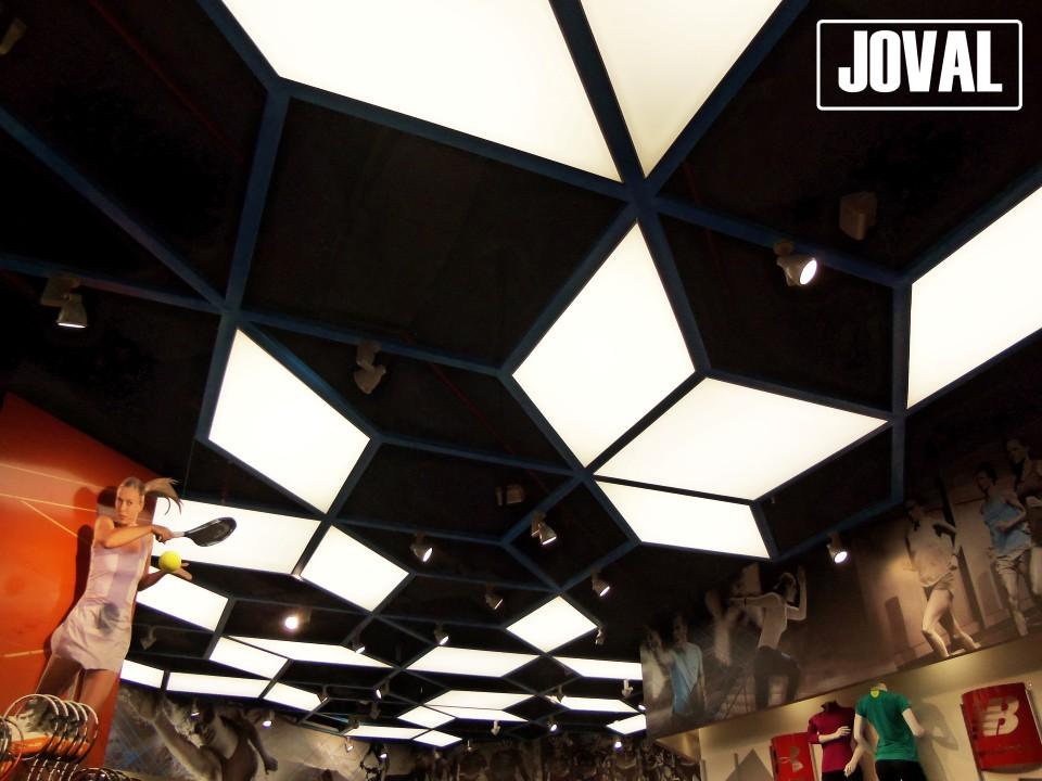 Diseño revestimiento de techo