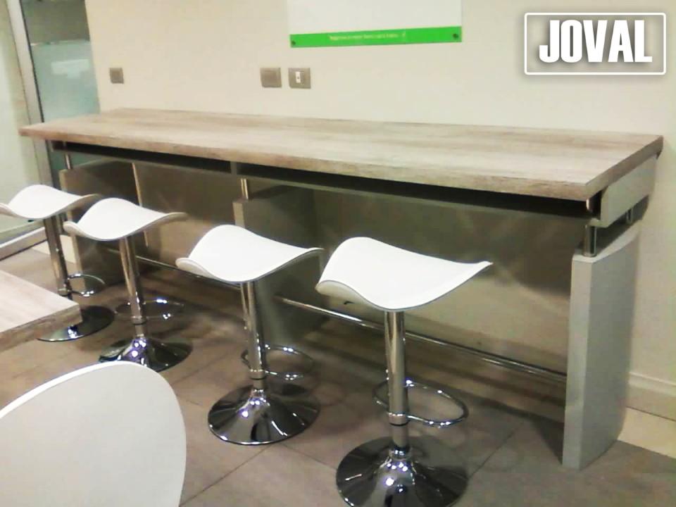 Mesa rectangular cocina para oficina