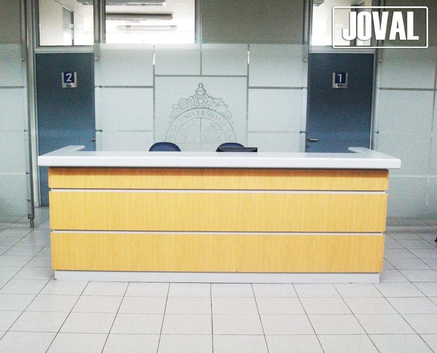 Muebles de recepci n joval proyectos mobiliarios a medida for Muebles de recepcion de oficina