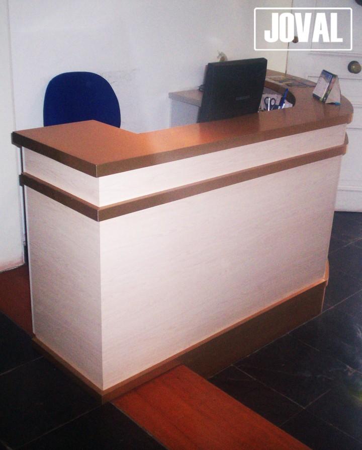 Muebles De Recepci N Joval Proyectos Mobiliarios A Medida