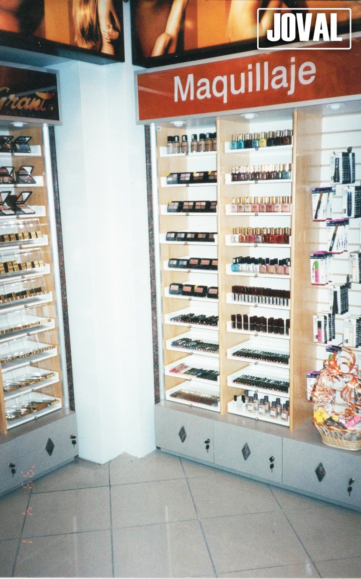 modulo zona perfumeria